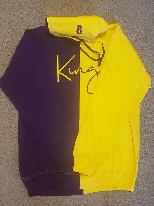 King hoodie (lakers color way)