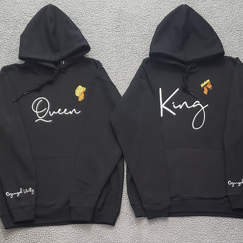 King and queen sweatsuit sets