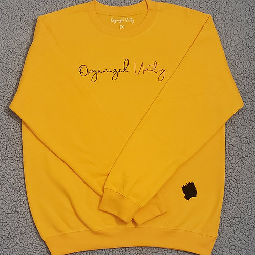 Organized unity crewneck sweaters!
