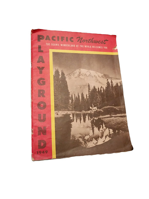 Pacific Northwest Playground 1949 Book