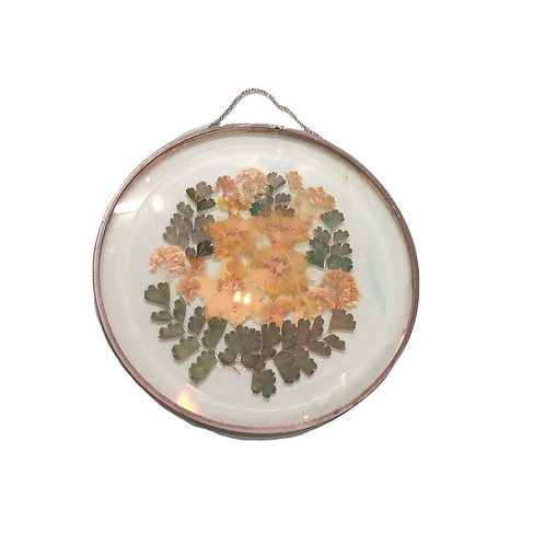 Pressed Flower Glass Window Hanger