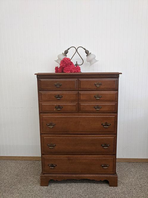 5 Drawer Maple Dresser