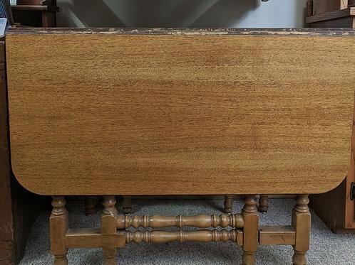 Oak Drop Leaf Table