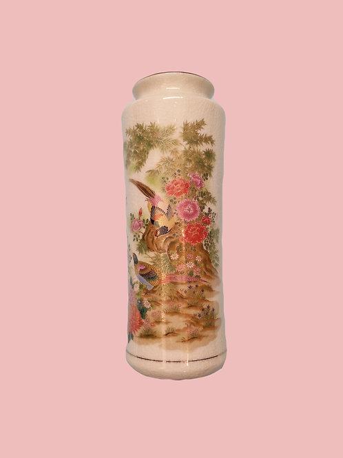 Tall Japanese Flower Vase