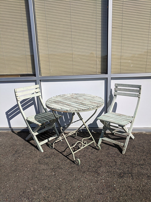 3 Piece Mint Bistro Set