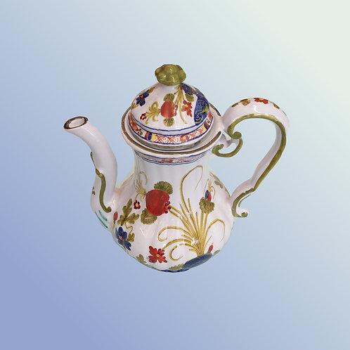 Blue Floral Tea Pot