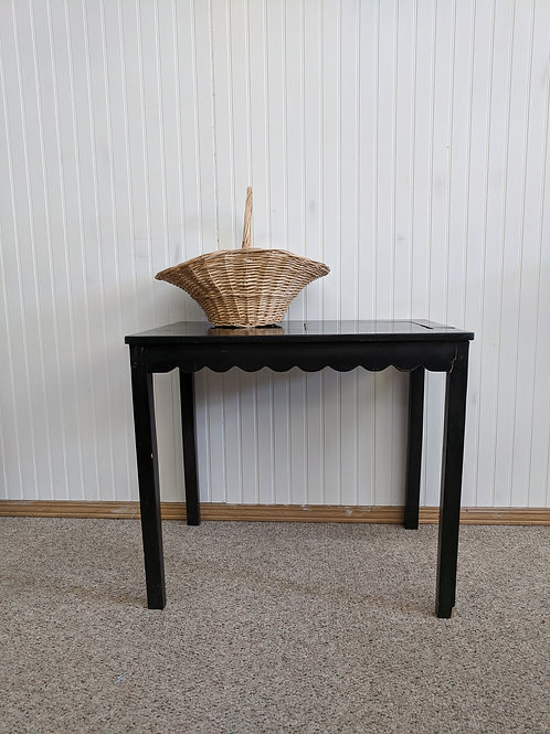 Small Black Game Table