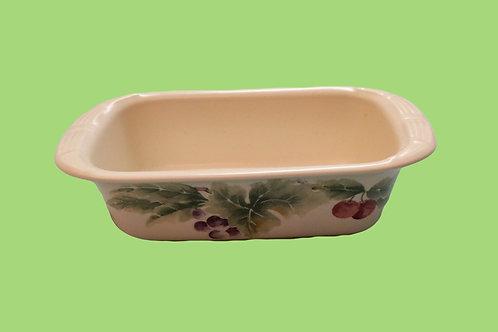 Pfatlzgraff Jamberry Butter Dish