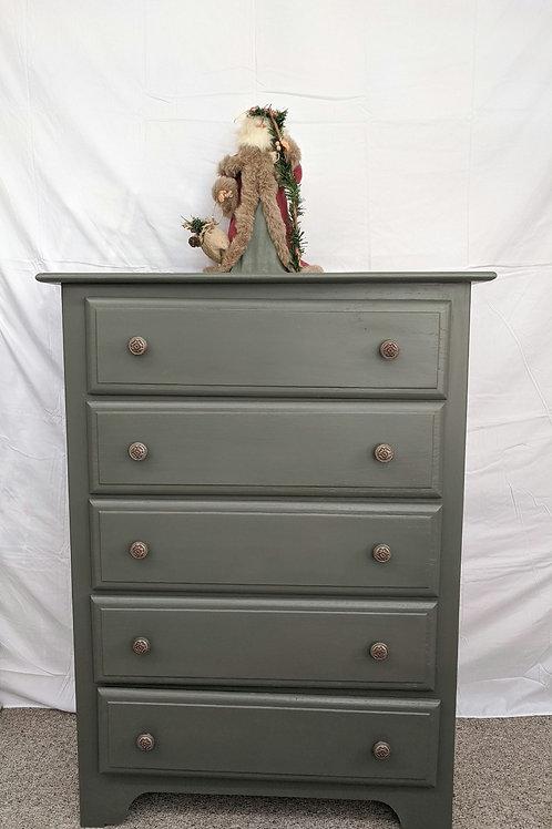 Olive 5 Drawer Dresser