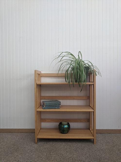 Folding 3 Shelf Stand