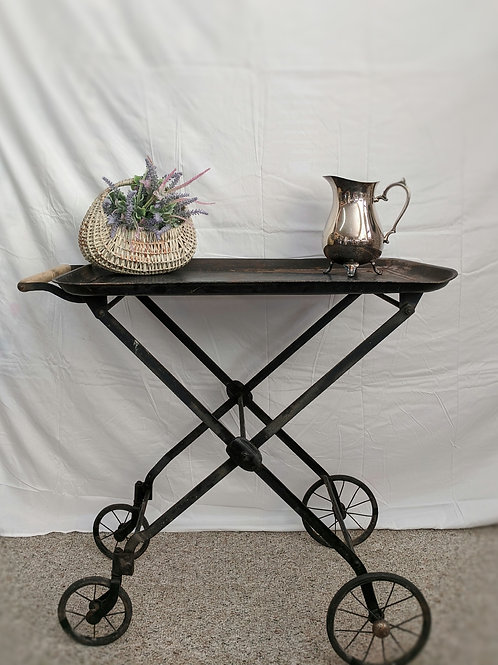 Antique Metal Hotel Cart