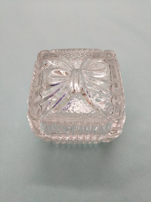Small Crystal Box w| Bow