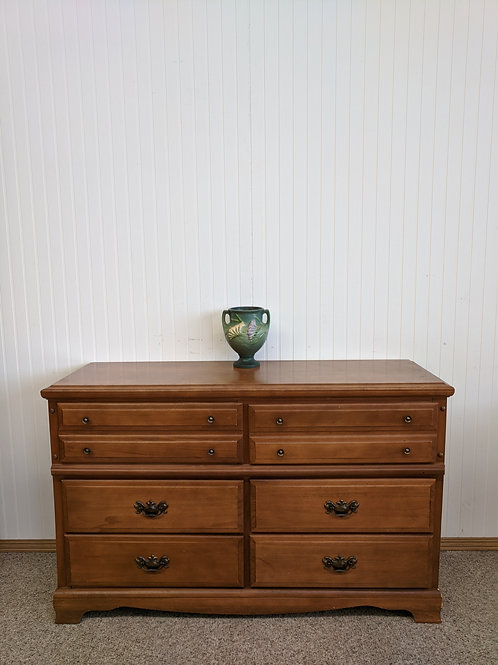 6 Drawer Maple Dresser