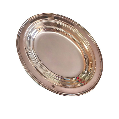 Oval Metal Platter