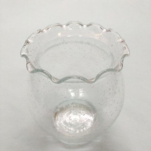 Round Bubbly Vase