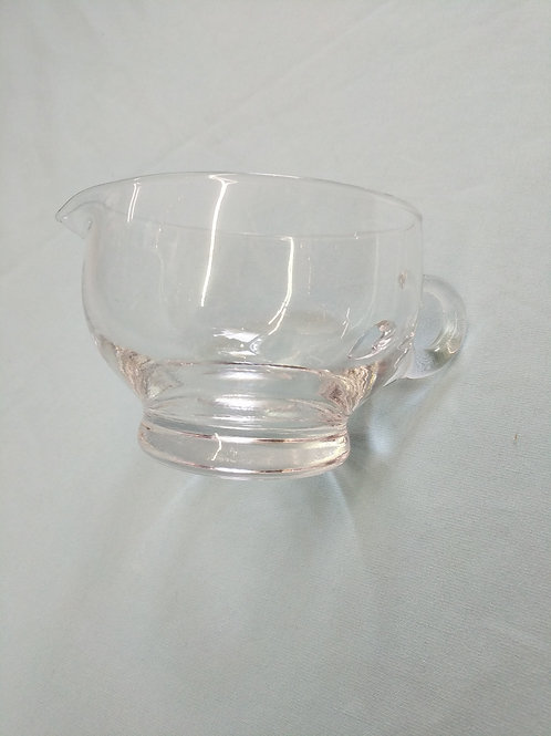 Glass Serving Dish w| Spout and Handle