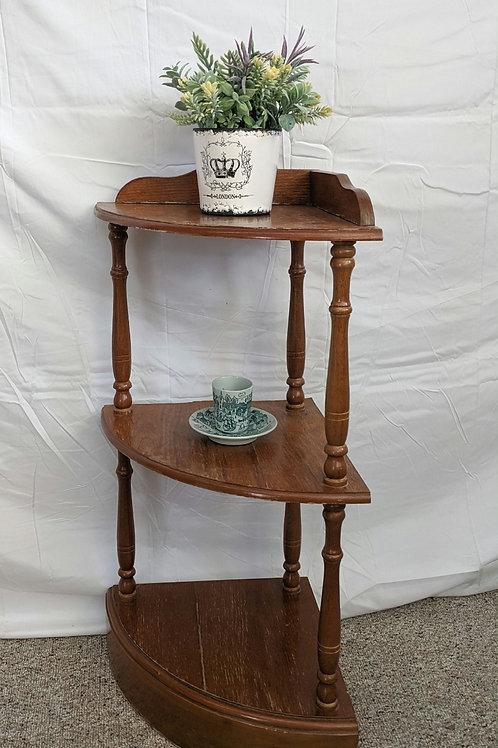 3 Shelf Corner Stand