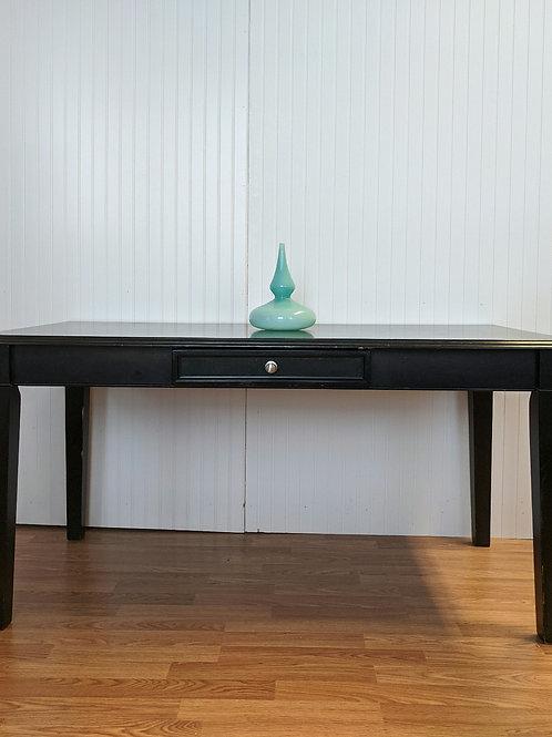 Black Kitchen Table w| Drawer