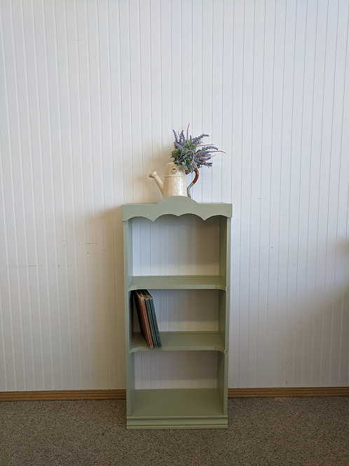 Green Painted Book Shelf