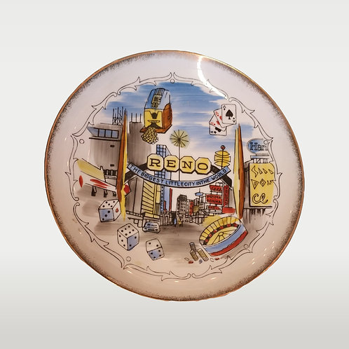 Reno Collector's Plate