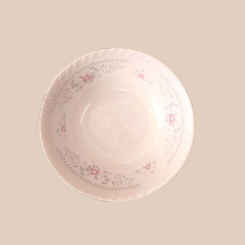 Pink Floral Bowl
