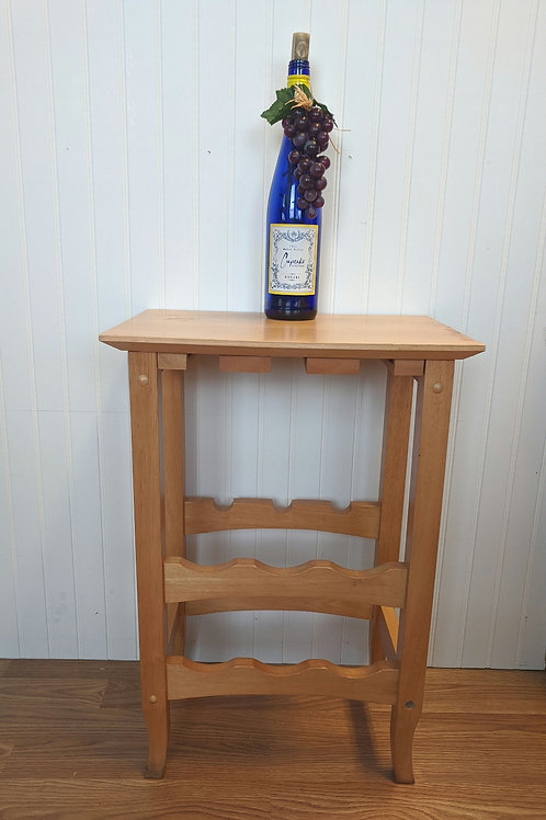 Small Light Colored Wine Rack