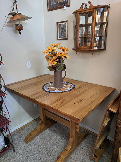 Bar Height Table w| Leaf & 6 Chairs