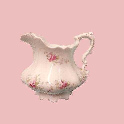 Pink Creamer Dish