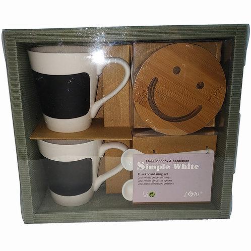 Набор чайный 2 перс 6 пр 250мл Smile