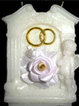 Свеча Арка с цветком
