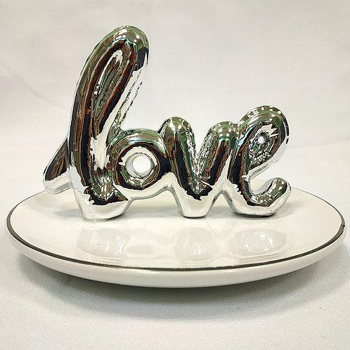 Подставка для украшений 14см LOVE