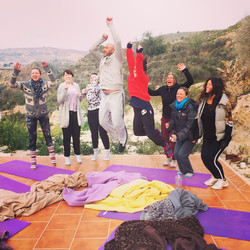 Beautiful yogis