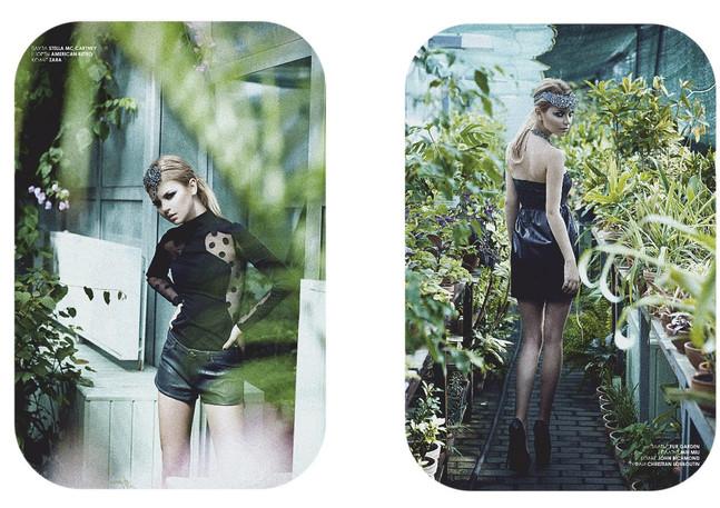 fashion story для журнала САХАР