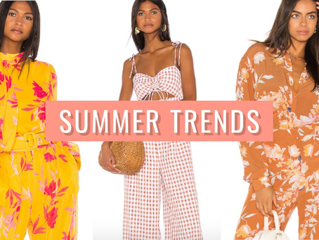 The 5 summer trends you need to try