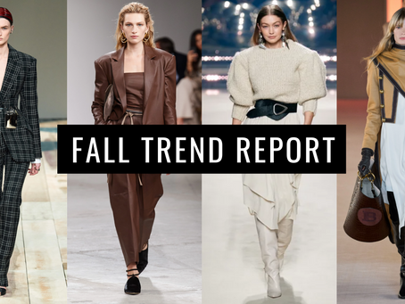 Fall Trends + Shopping Guide