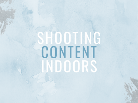 A guide to shooting content indoors