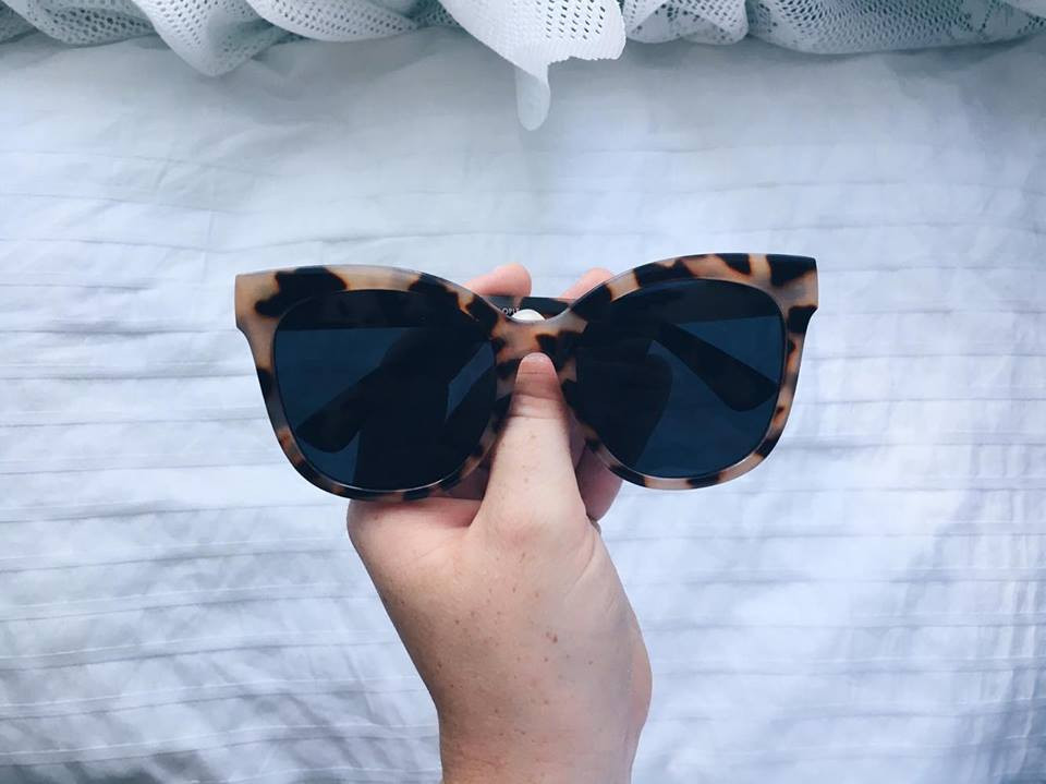 Large sunglasses from Urban Outfitters