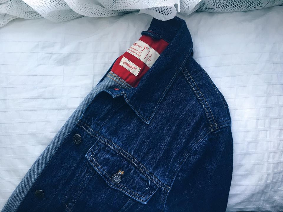 Jean jacket from the GAP