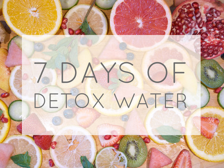 7 Days of Detox Waters