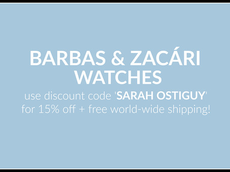 Discover Barbas & Zacári Watches