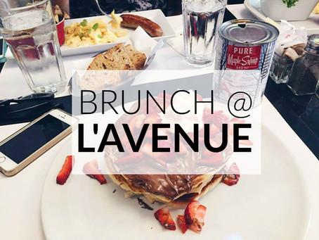 Brunch @ L'Avenue