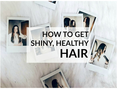 How To Get Shiny, Healthy Hair