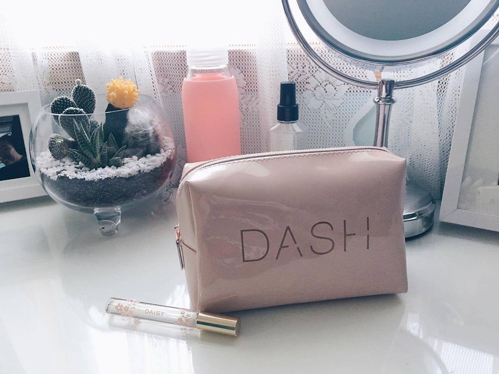 Cosmetic bag from DASH in Soho, NYC