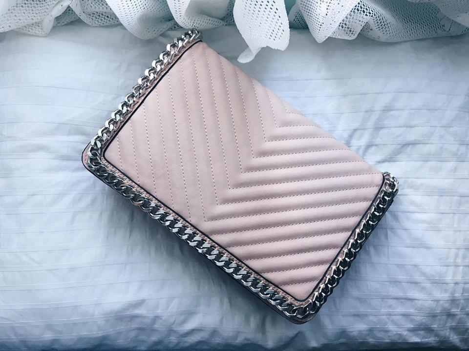 Pink handbag from Aldo