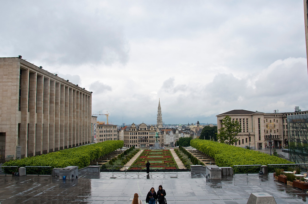 View of Brussels, Belgium