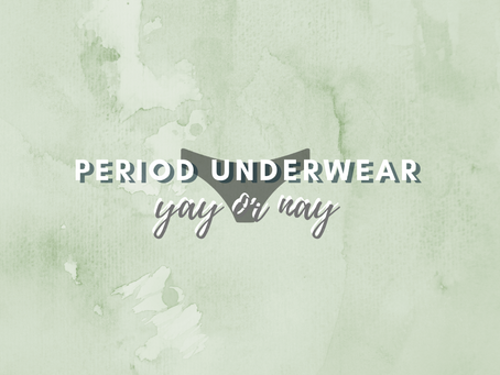 Why I switched to period underwear