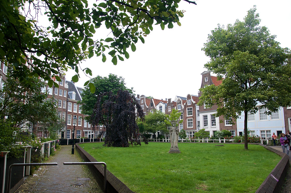 Courtyard in Amsterdam