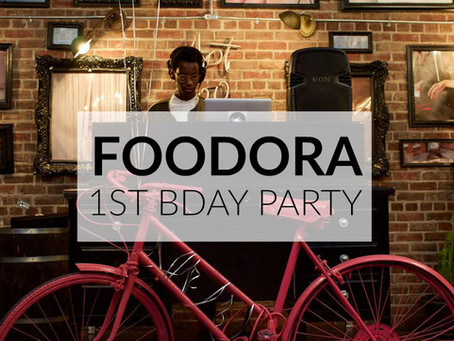 Foodora's 1st Birthday Party