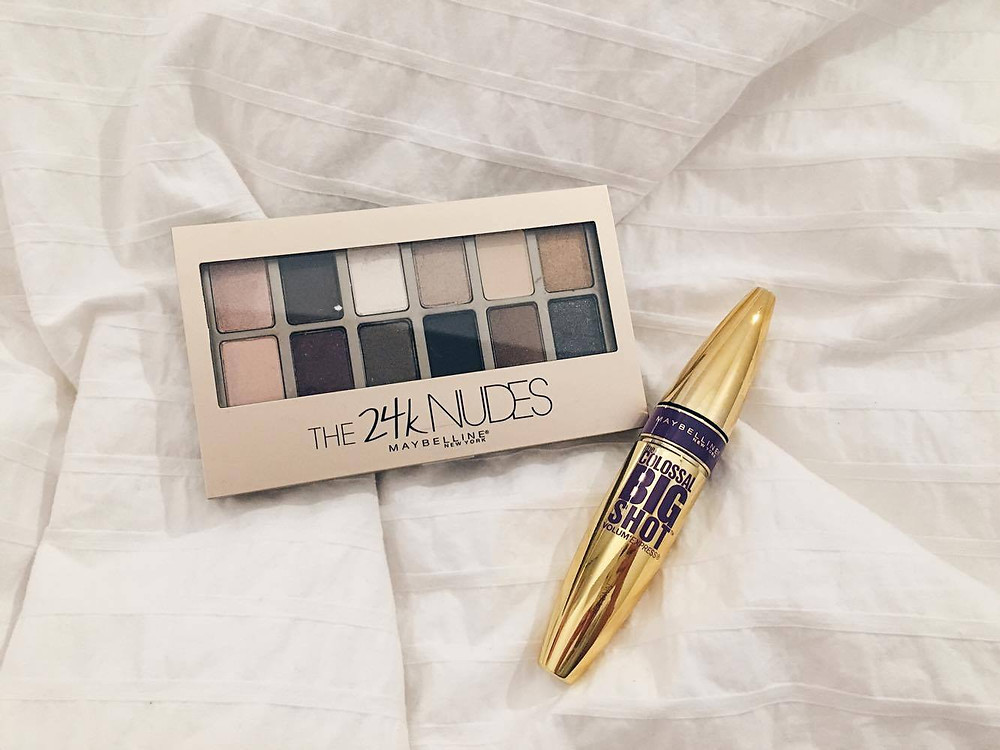 Maybelline The 24K Nudes Palette Colossal Big Shot Volum Express