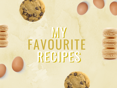 All my favourite recipes!